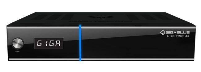 GigaBlue UHD TRIO 4K – Neuer Combo UHD Receiver von Gigablue