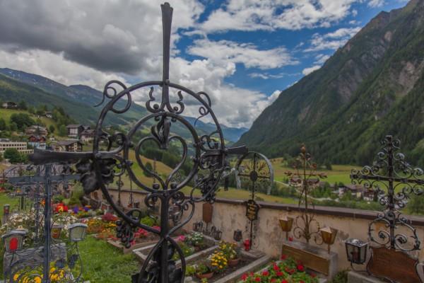 Heiligenblut - hautausmaa