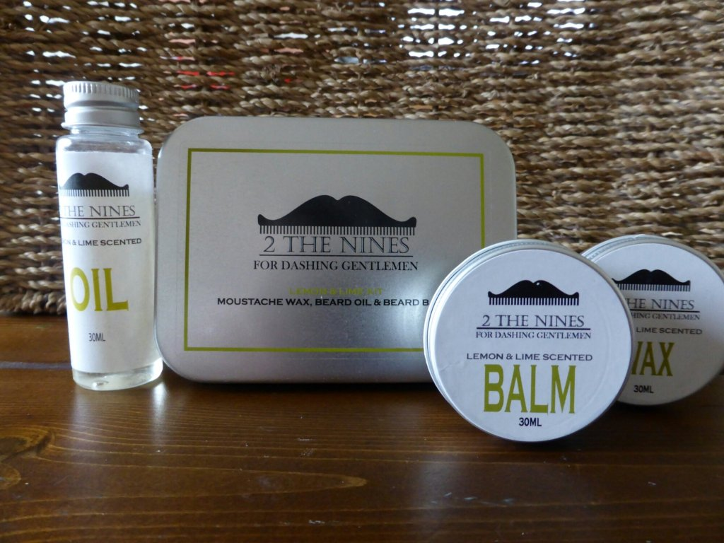 2 the Nines Beard Care Kit
