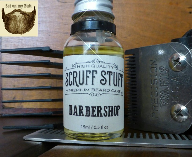 Scruff Stuff 'Barbershop' Beard Oil