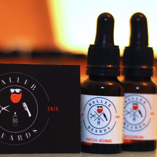 Baller Beards 'Patch Adams' Beard Oil