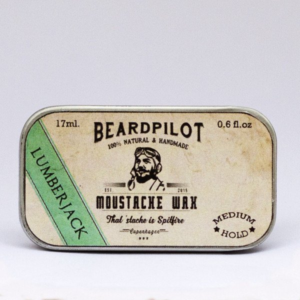 Beardpilot 'LumberJack' Moustache Wax