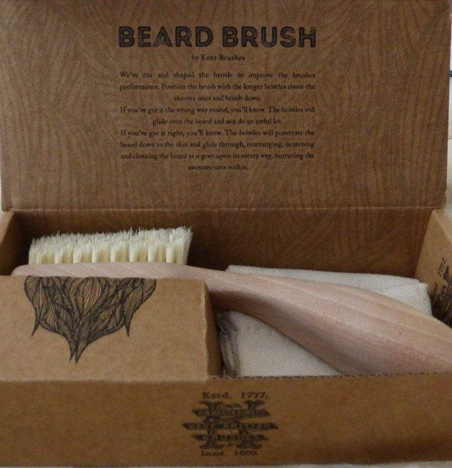 Review: Kent Beard Brush