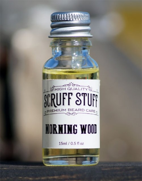 Scruff Stuff 'Morning Wood' Beard Oil