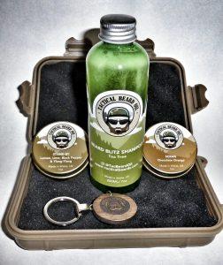 Tactical Beard Oil kit