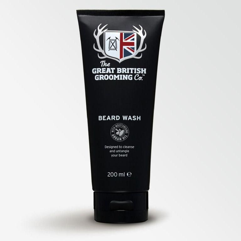 The Great British Grooming Co Beard Wash