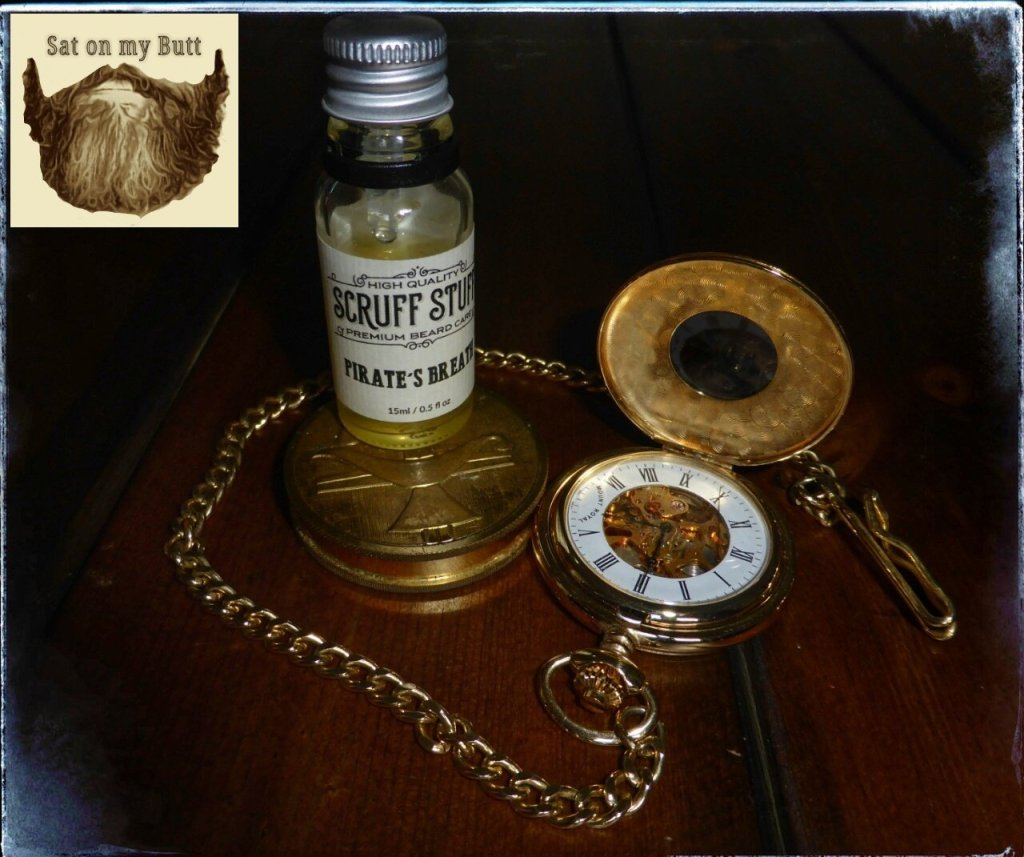 Scruff Stuff New 'Pirate's Breath' Beard Oil