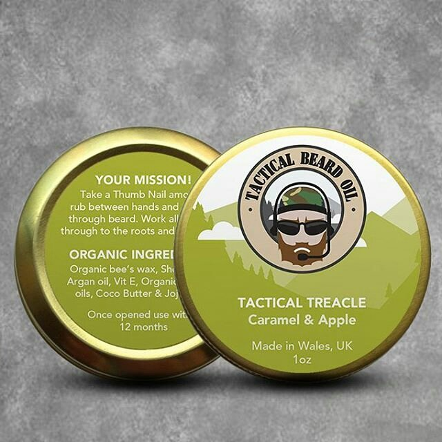 Tactical Beard Care 'Tactical Treacle' Beard Balm