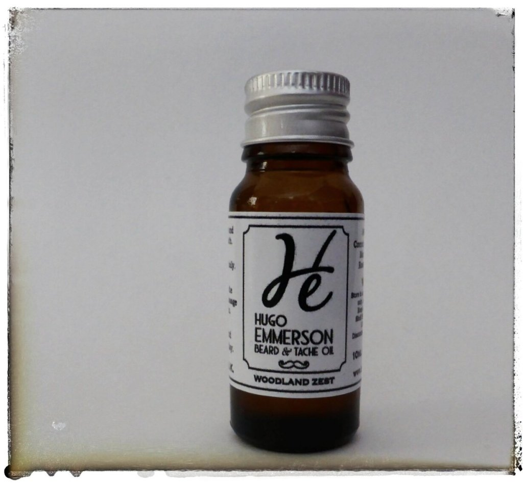 Review of Woodland Zest Beard Oil from Hugo Emmerson