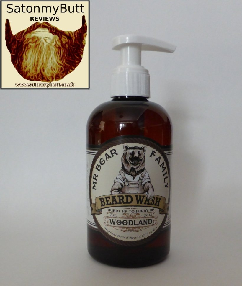 Mr Bear Family Woodland' Beard Wash