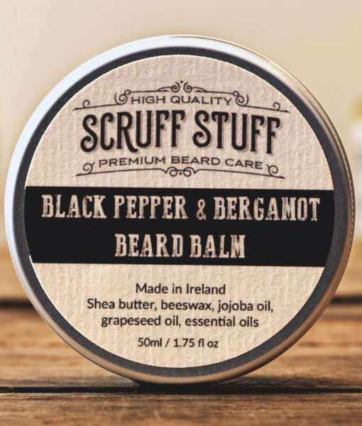 Review: Scruff Stuff 'Black Pepper and Bergamot' Beard Balm