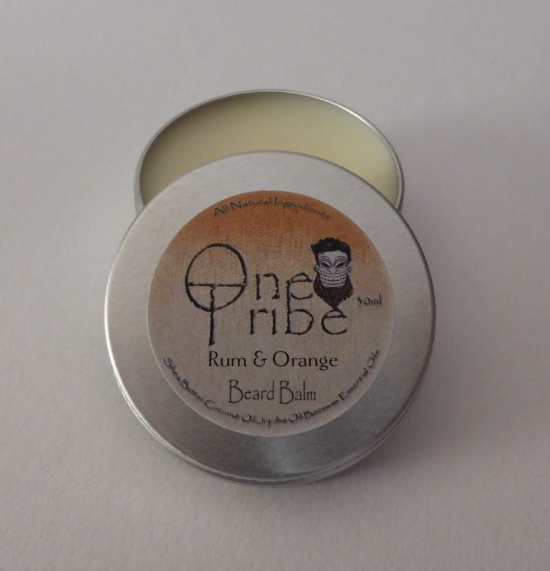 One Tribe 'Rum and Orange Beard Balm
