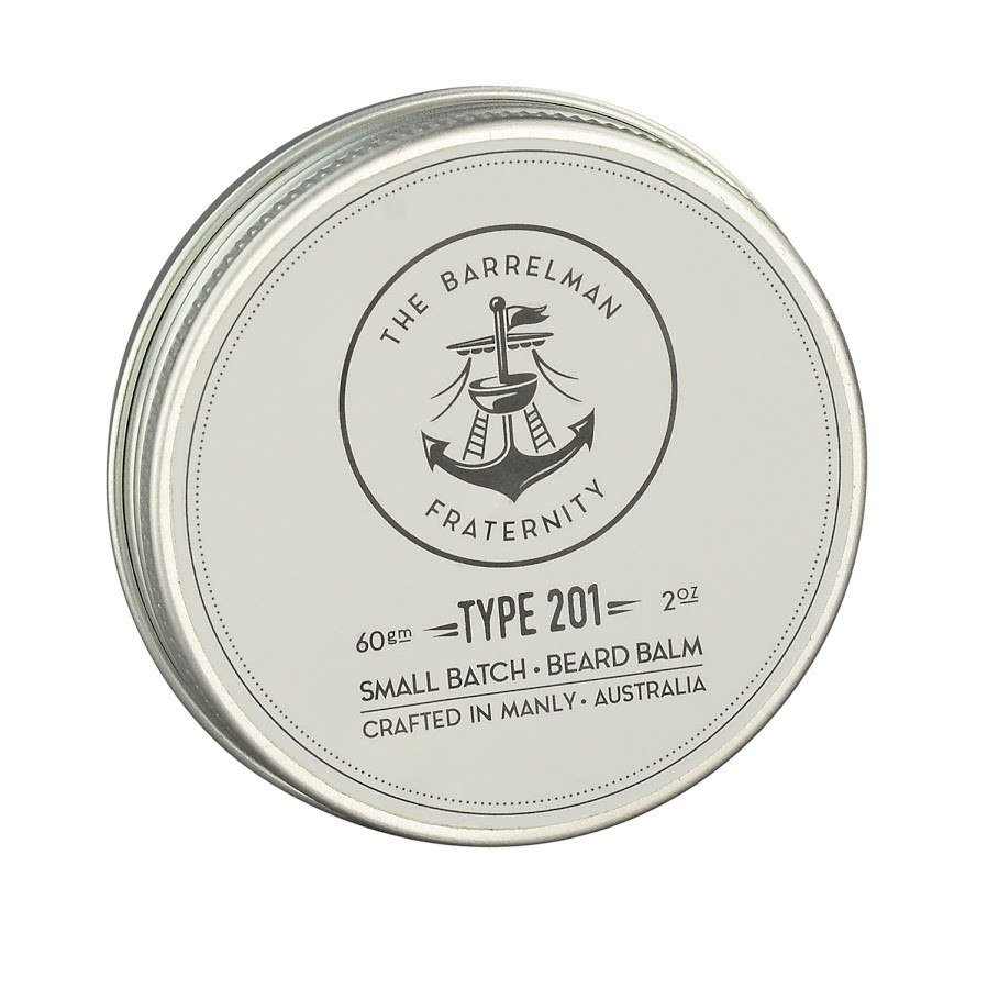The Barrelman Fraternity 'Type 201' Balm from The Great Australian Beard Co