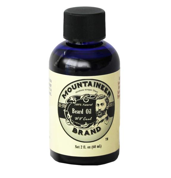 Mountaineer Brand 'Coal' Beard Oil