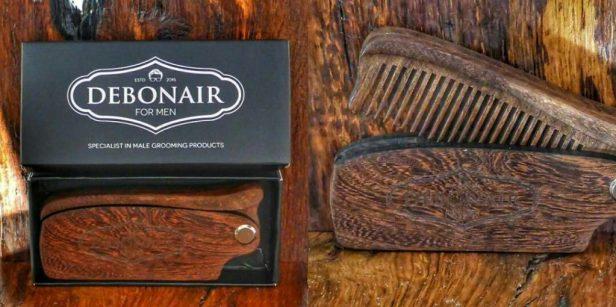 Debonair For Men Handcrafted Flip Beard Comb