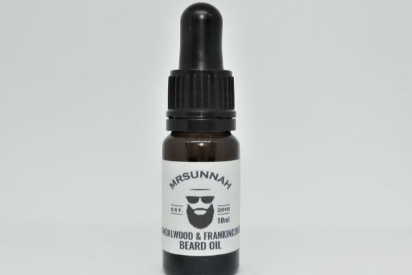 Mr Sunnah 'Sandalwood & Frankincense' Beard Oil