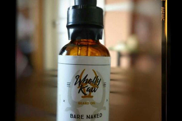Wholly Kaw 'Bare Naked' Beard Oil