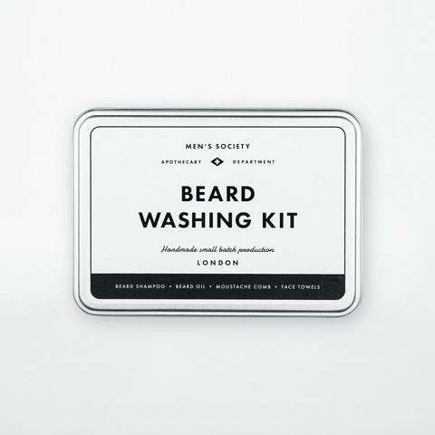 Men's Society 'Beard Washing Kit'