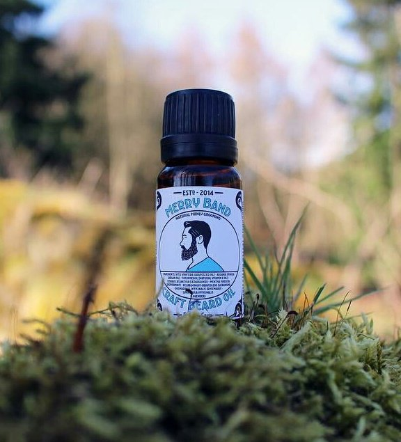 Merry Band Beard Oil 'Bold & Crisp'