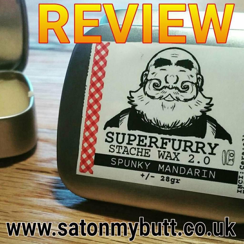 Superfurry 'Spunky Mandarin' Stache Wax 2.0