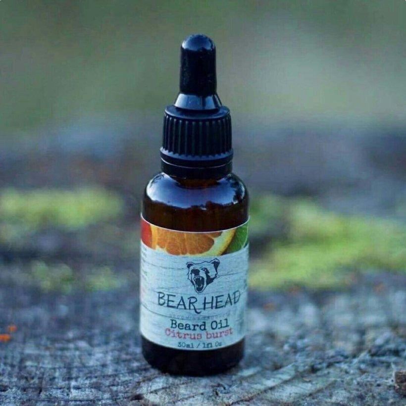 Bear Head 'Citrus Burst' Beard Oil