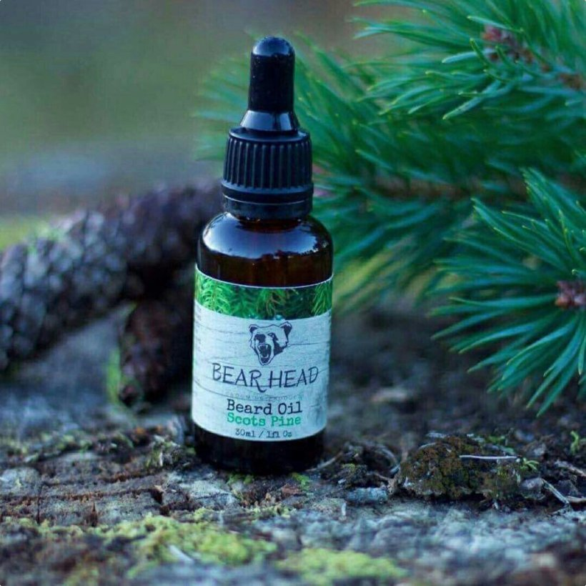 Bear Head 'Scots Pine' Beard Oil