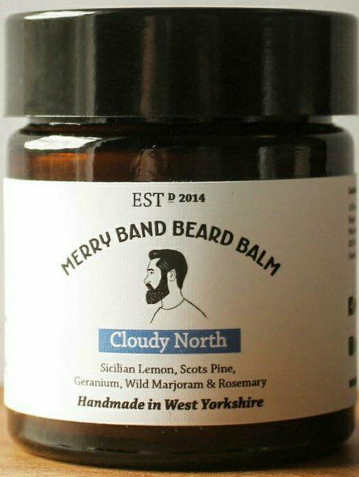 Merry Band Beard Oil 'Cloudy North' Beard Balm