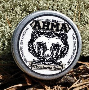 Ahma Beard Products Moustache Wax