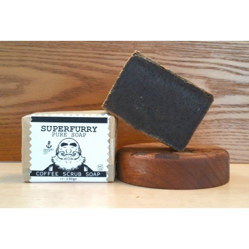 Superfurry Coffee Scrub Soap Bar