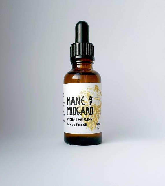 Review of Mane of Midgard 'Viking Farmer' Beard Oil