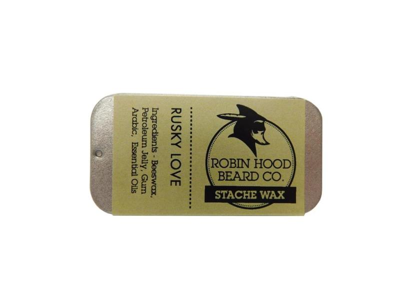 Review of Robin Hood Beard Co 'Rusky Love' Stache Wax