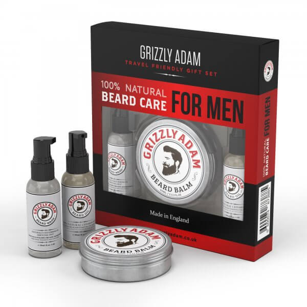 Review of the Grizzly Adam Beard Care Set
