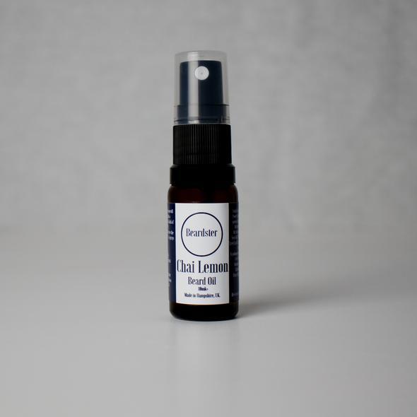 Review of Beardster Chai Lemon Beard Oil