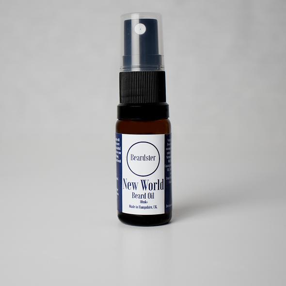 Review of Beardster New World Beard Oil