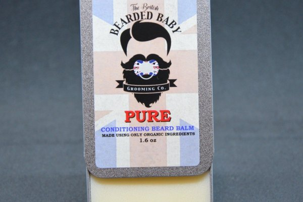 Review of The British Bearded Baby Pure Beard Balm