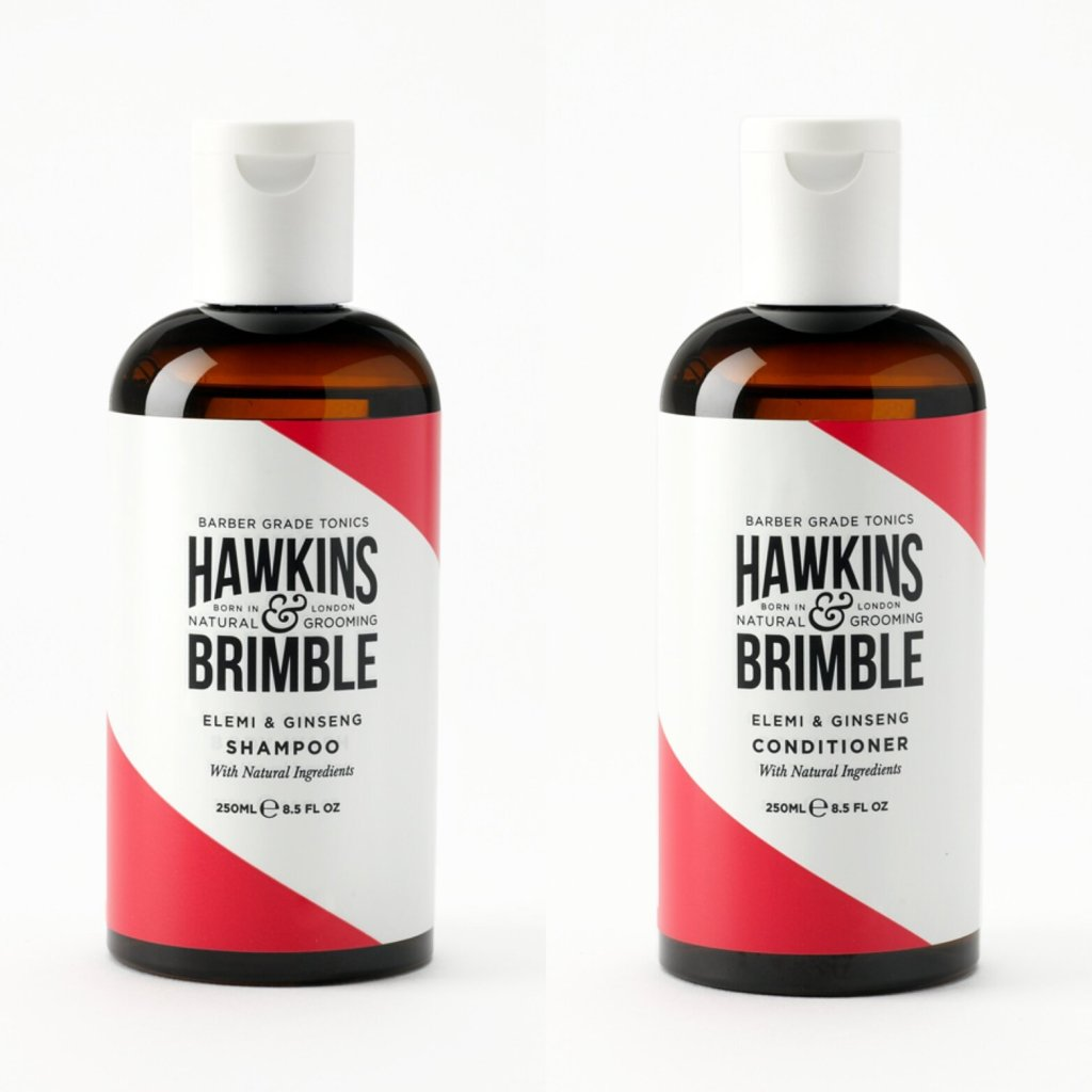 Review of Hawkins & Brimble Shampoo and Conditioner
