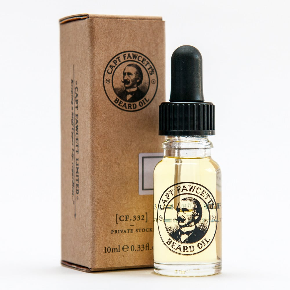 Review of Captain Fawcett CF.332 Private Stock Beard Oil from befaf
