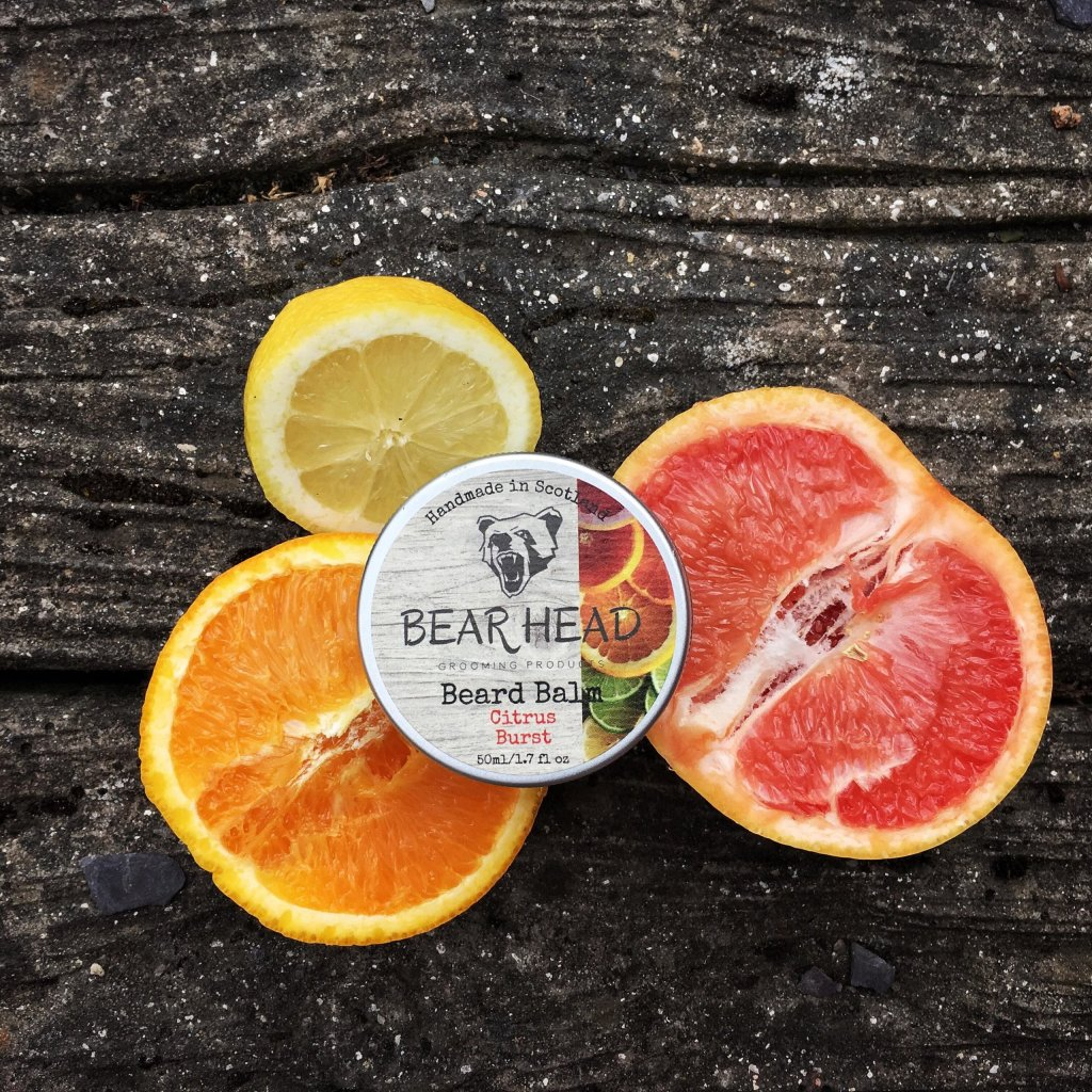 Review of the Bear Head Grooming Citrus Burst Beard Balm