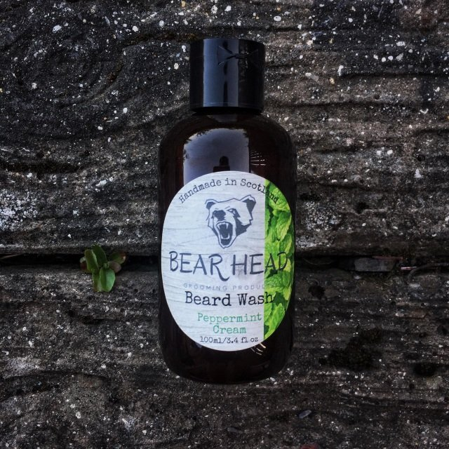Review of the Bear Head Grooming Peppermint Cream Beard Wash