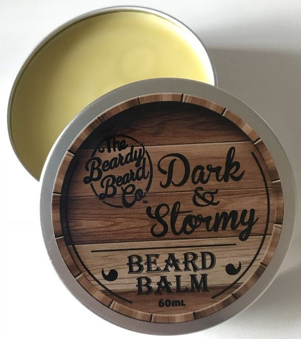 Review of The Beardy Beard Co Dark & Stormy Beard Balm