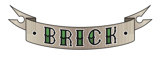 Brick beard care logo