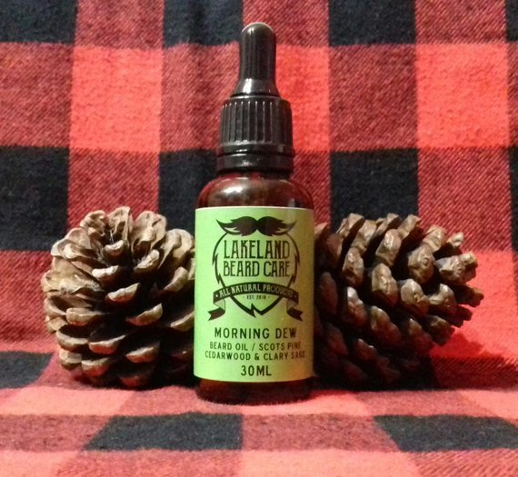Review of the Lakeland Beard Care Morning Dew Beard Oil