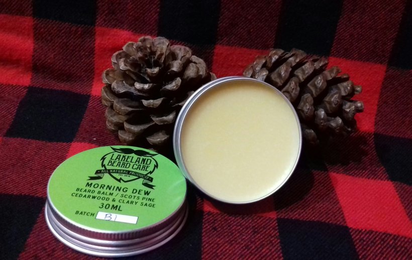 Review of the Lakeland Beard Care Morning Dew Beard Balm