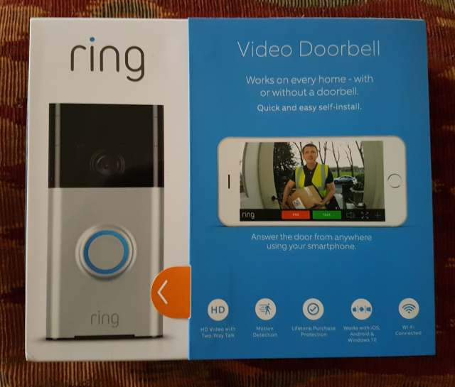 Review of the Ring video doorbell