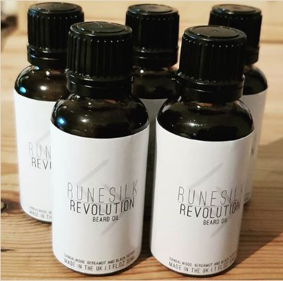 Review of the Runesilk Revolution Beard Oil