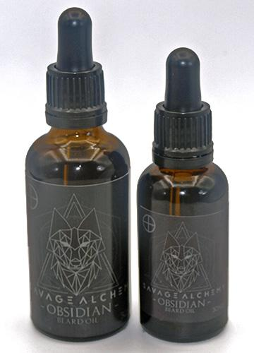 Savage Alchemy Obsidian Beard Oil