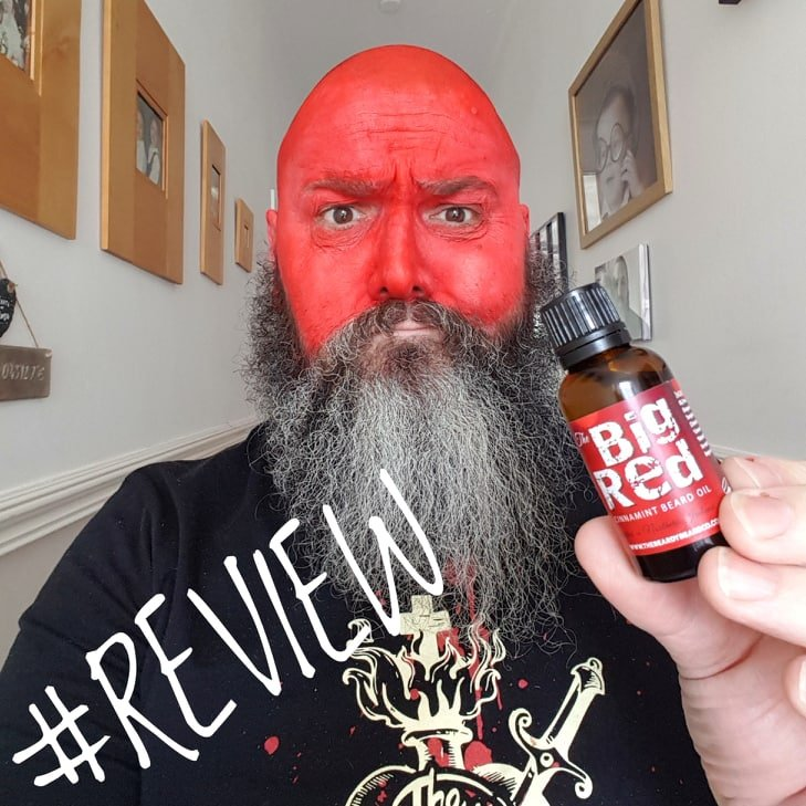 The Beardy Beard Co Big Red Beard Oil