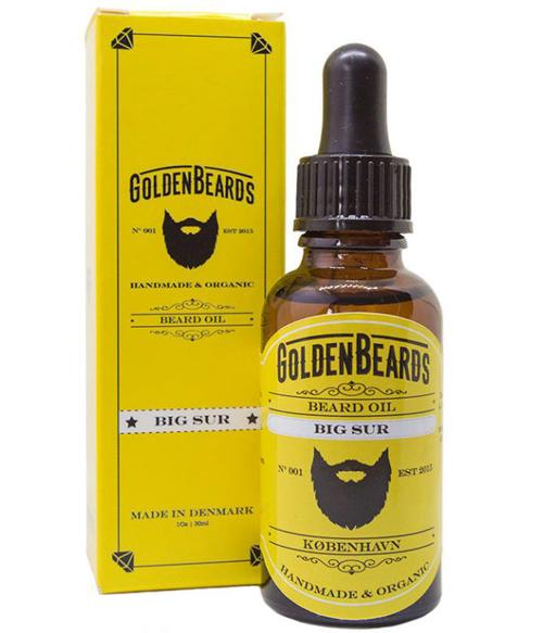 Review of the Golden Beards Big Sur Beard Oil
