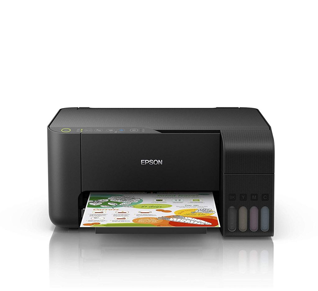 Cartridge free printing saving you money with the Epson EcoTank ET-2710