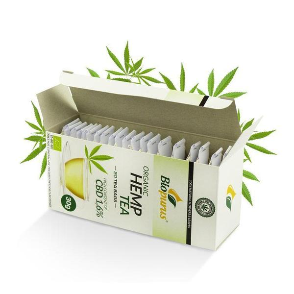 Review of the Biopurus Hemp Tea Bags from For The Ageless